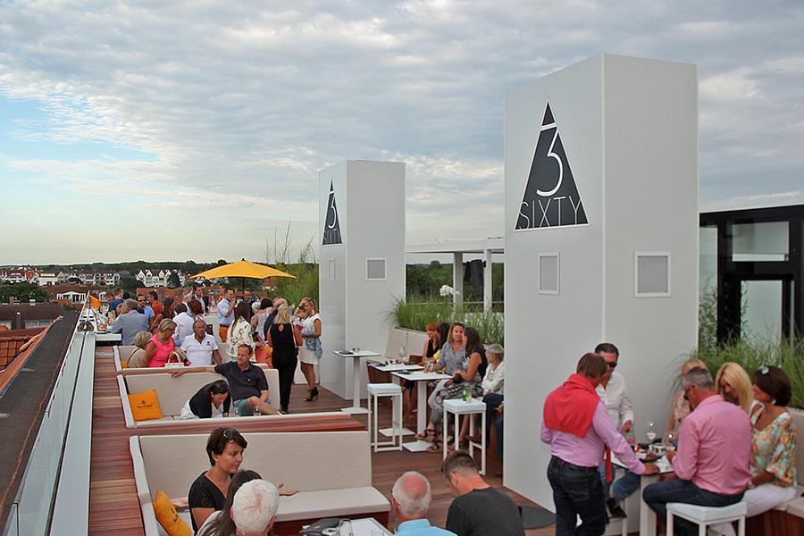 3Sixty, lounge, dakterras, bar, hotel, Knokke