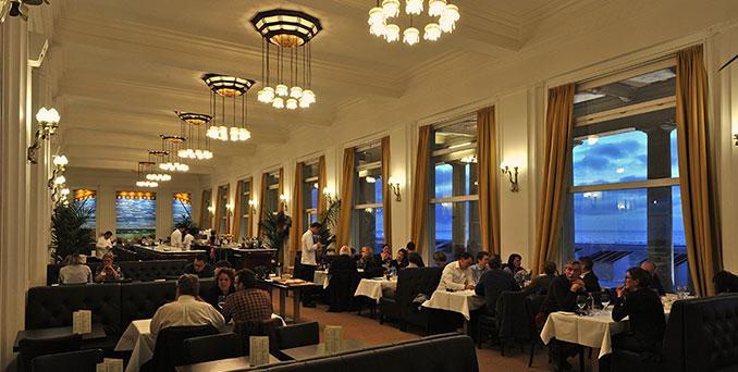 Brasserie Albert, Oostende, Thermae Palace, kust