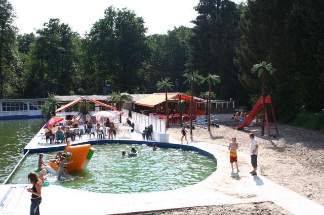 Wouterbron, zomer, zwemmen, openlucht, warm
