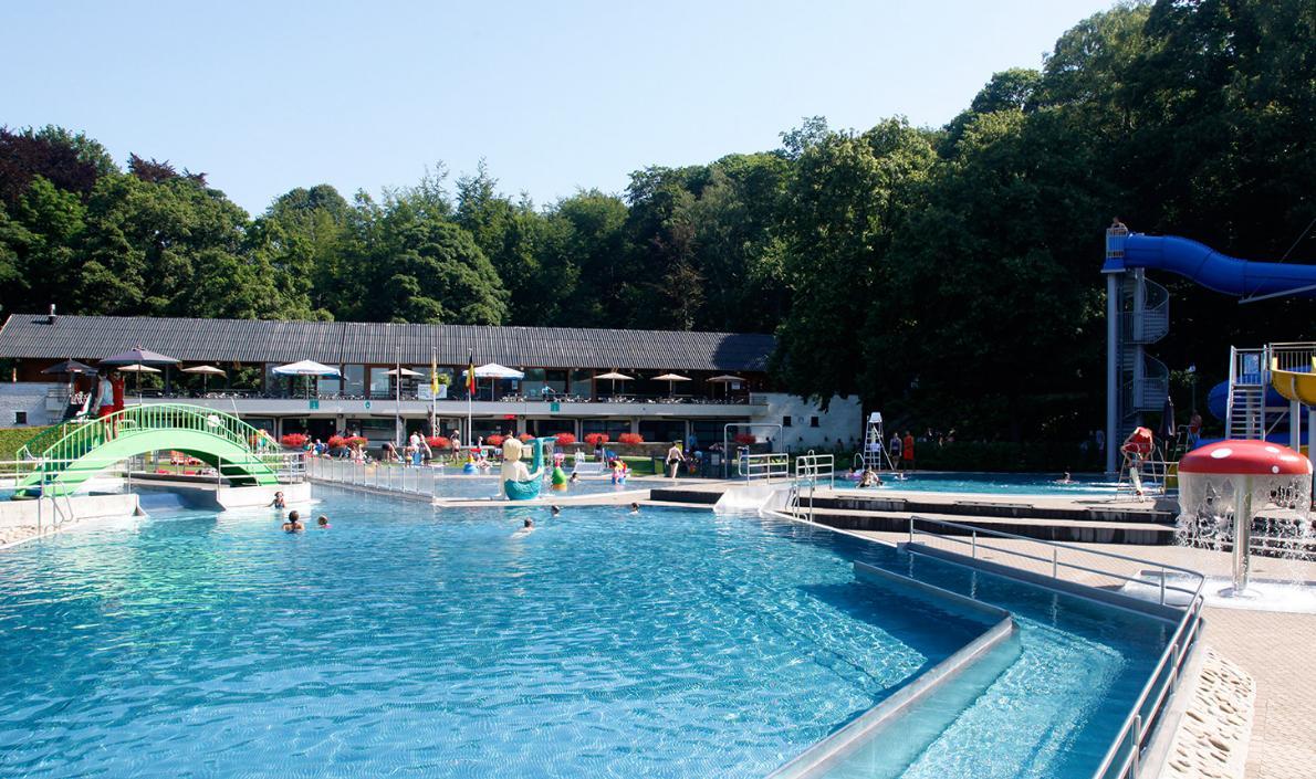 Huizinge, recreatiedomein, openlucht, zwembad, zomer