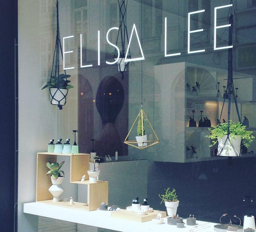 Elisa Lee, shop & gallery, fashion, Gent, adresjes