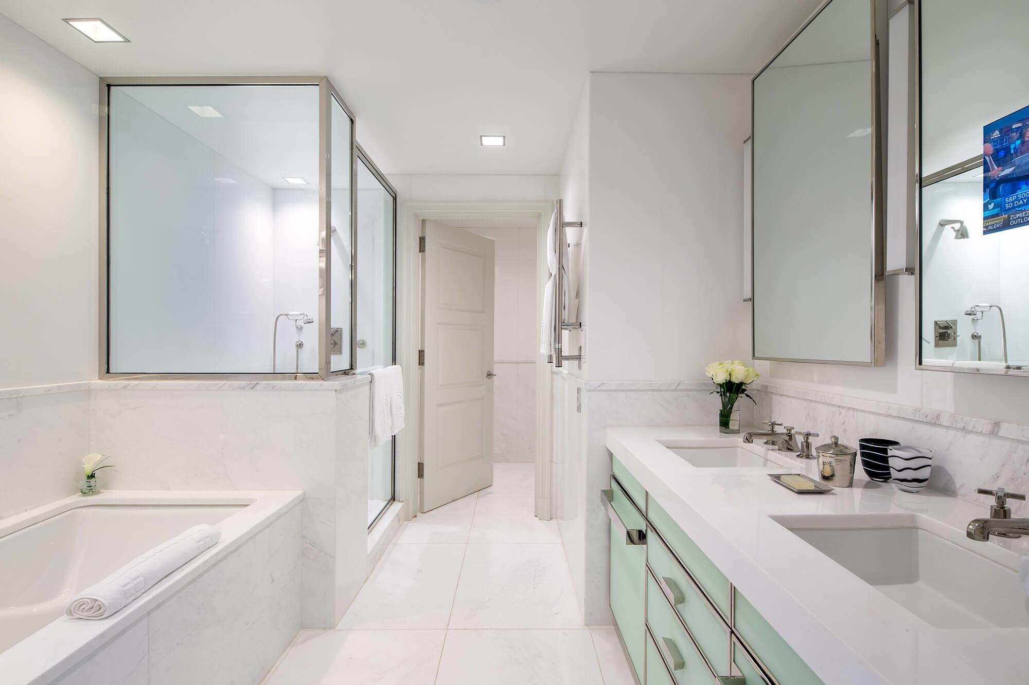 L'une des nombreuses salles de bain