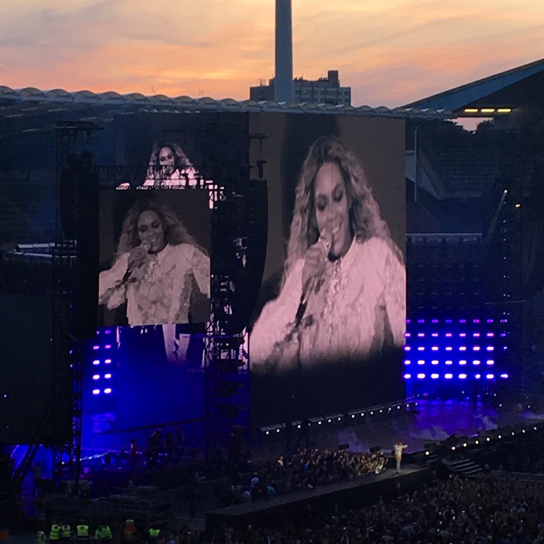 Beyonce au Stade Roi Baudouin