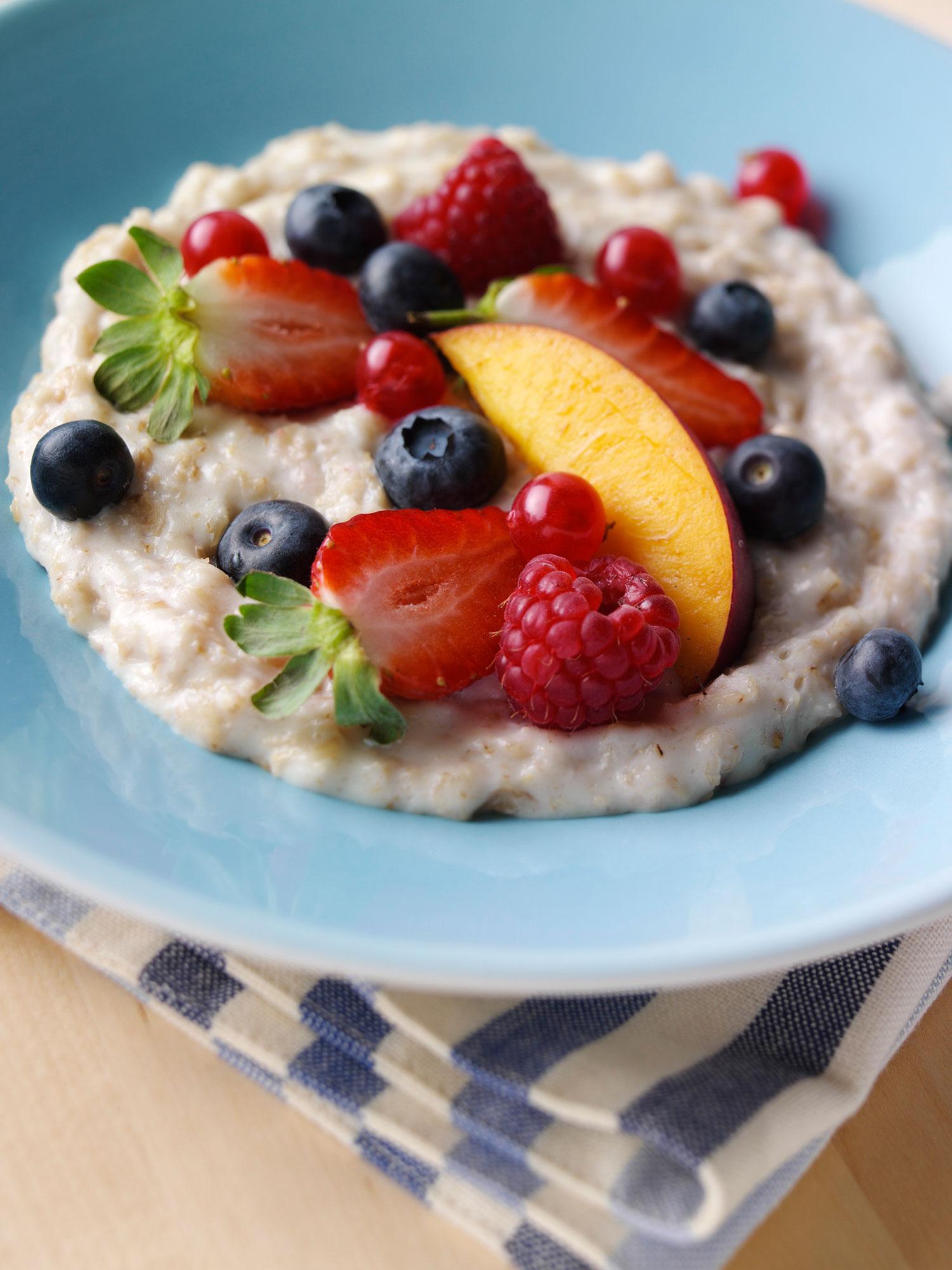 Porridge fruits