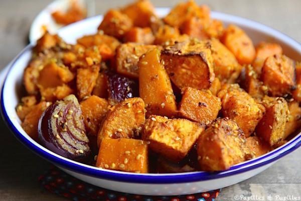 Patates douces et butternut