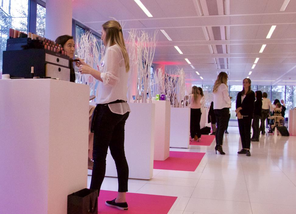 Op maandag 10 oktober organiseerde The Estée Lauder Companies hun 'House of Beauty'