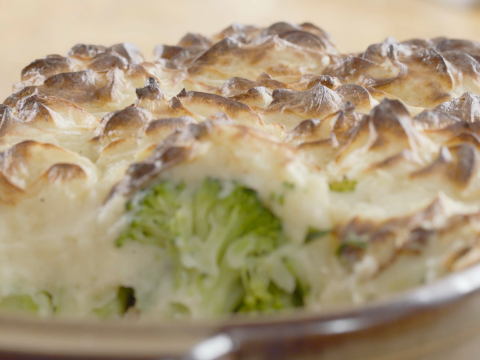VIDEO: Gehaktschotel met broccoli