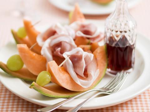 Vaak Spiesjes van meloen en ham - Libelle Lekker @GA94