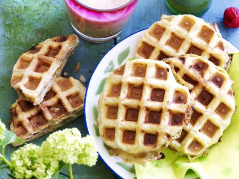 Supersnelle wafelcroques