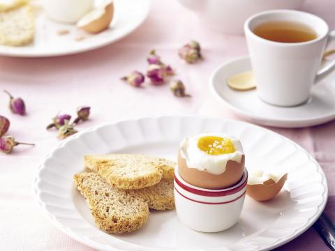 hoeveel min voor een zacht gekookt eitje