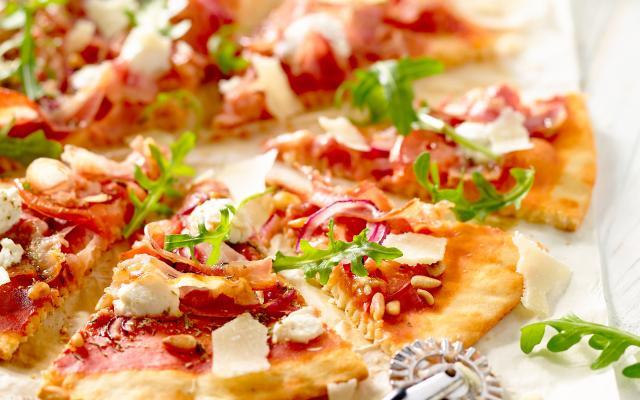 parma pizza recept