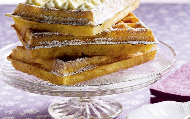 Traditionele Brusselse wafels