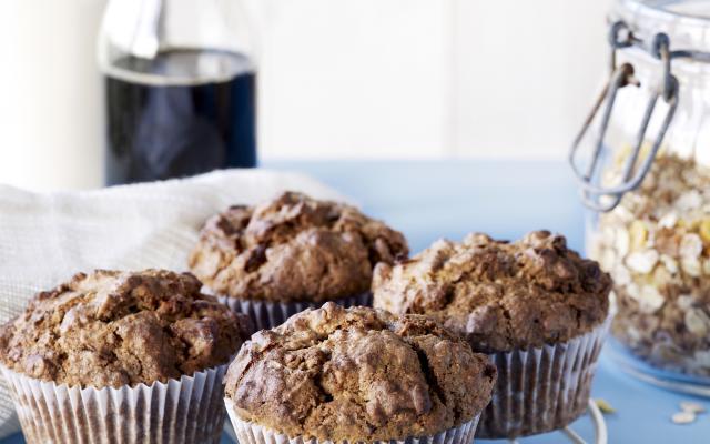 Spelt-muesli-muffins