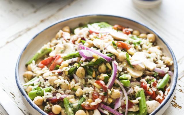 zomersalade vegetarisch