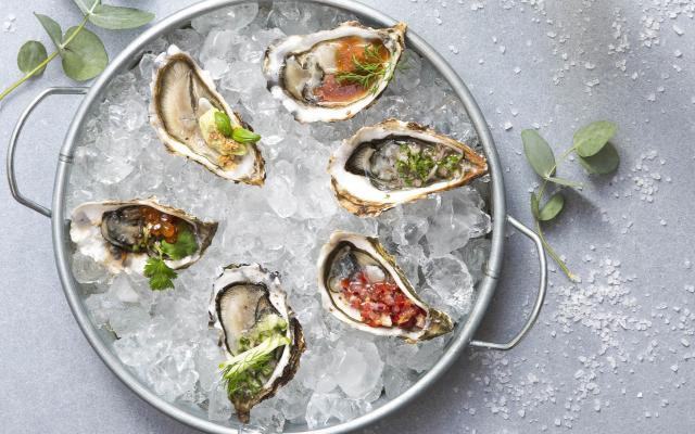 Bloody mary-oester
