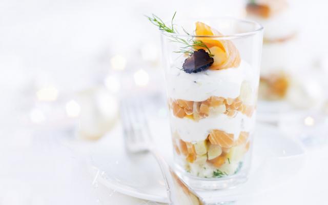 Salade Au Saumon Fume En Verrines Cuisine Et Recettes Recette