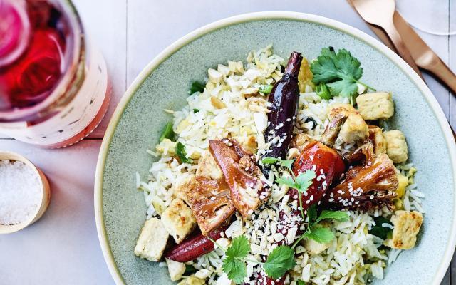 wok met wortel, bloemkool en quorn - libelle lekker