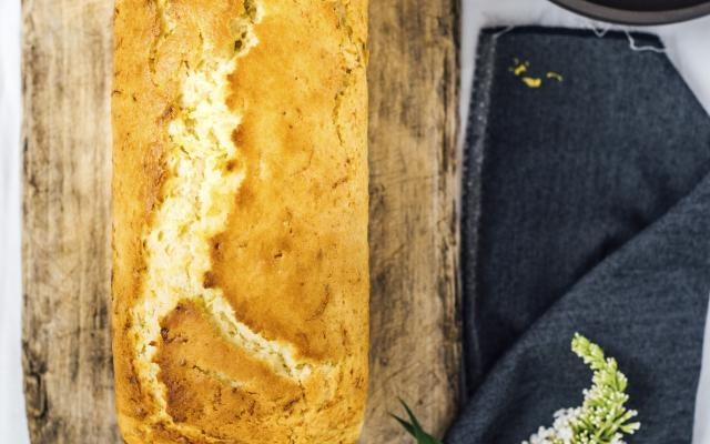 Bread cake courgettes-citron