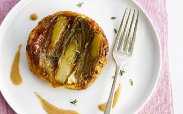 Mini-Tatin de chicons vinaigrette