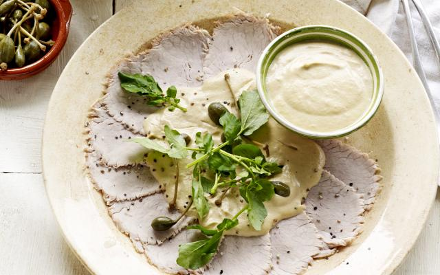Vitello tonnato basisrecept