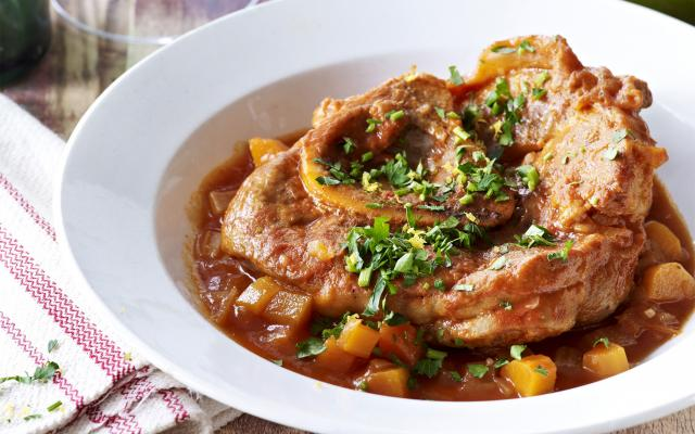 Ossobuco met risotto