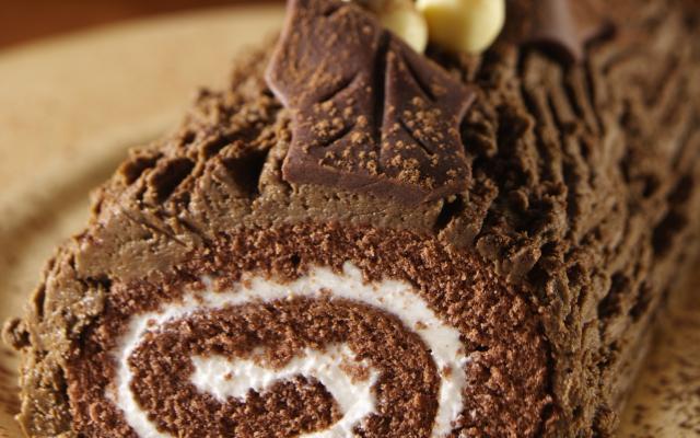 Cuisiner une buche au chocolat