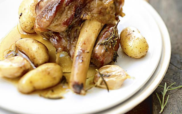 Souris d agneau confites à l ail - Cuisine et Recettes - Recette ... c4d91bc8c01