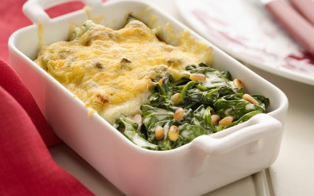 recept kabeljauw spinazie oven