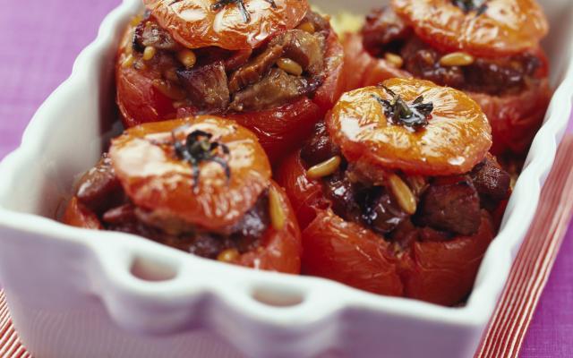 gevulde tomaten - libelle lekker