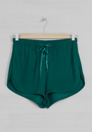 Shorty vert, & Other Stories sur www.stories.com, 19 €