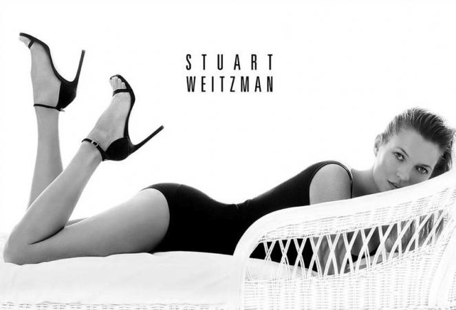 Kate Moss voor Stuart Weitzman