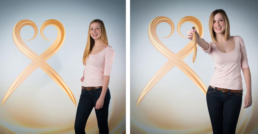 De voor en na van Alexandra (19, studente)