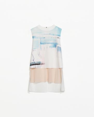 Zara collection Printemps/Eté 2014