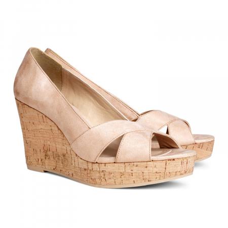 Schoenen met sleehak – € 24,95