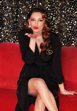 Brits topmodel Kelly Brook