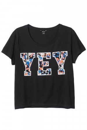T-shirt met print – € 10 – Monki
