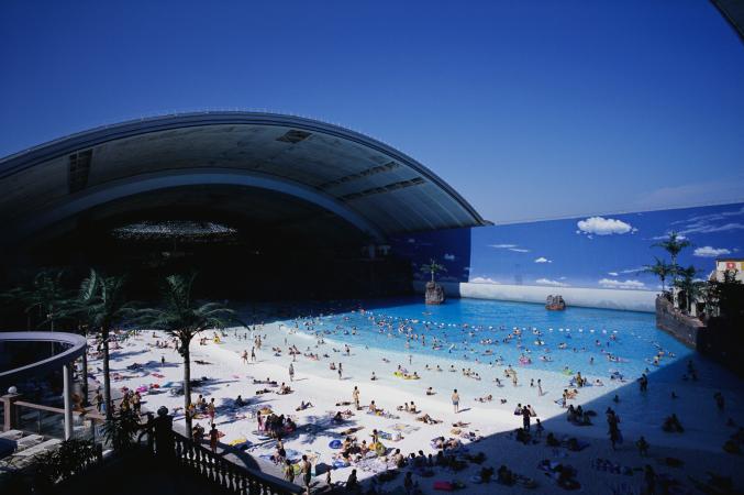 The Ocean Dome – Japan