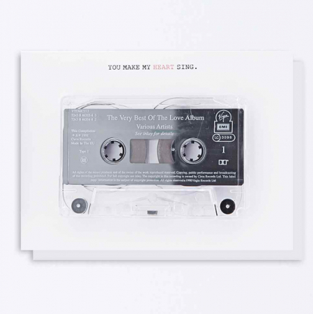 Een old fashioned mixed tape. #cute