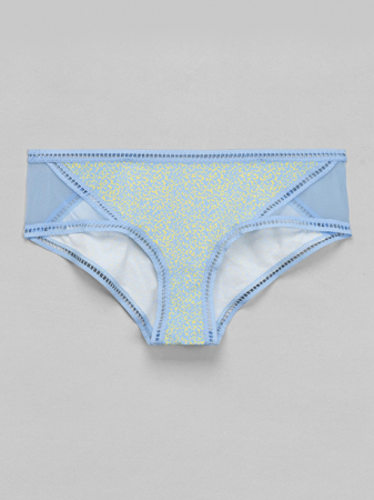Hotpants met confettiprintje