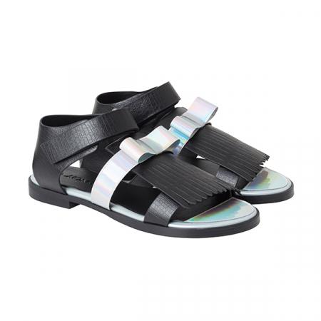 Sandalen met strikje