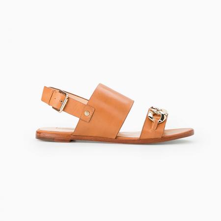 Sandalen met ketting
