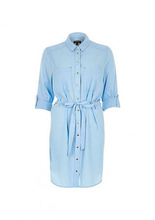 Lightweight shirt dress