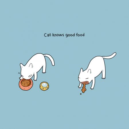 Ze weten wat goed eten is.