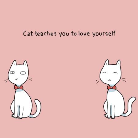 Ze leren je hoe van jezelf te houden.