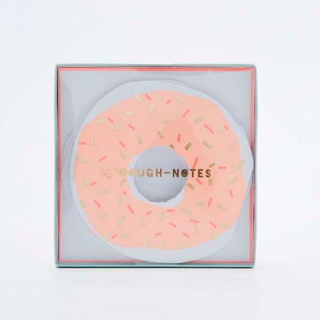 Donutnotitieblaadjes