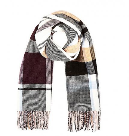 Sjaal met ruitjes