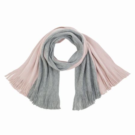 Tweekleurige sjaal