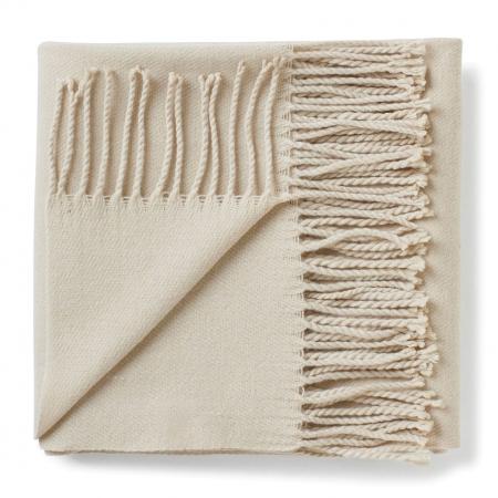 Crèmekleurige sjaal