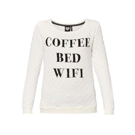Sweater met quote