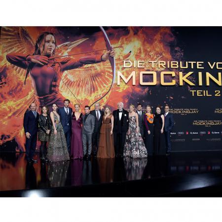 Avant-première d'Hunger Games – partie 2 à Berlin